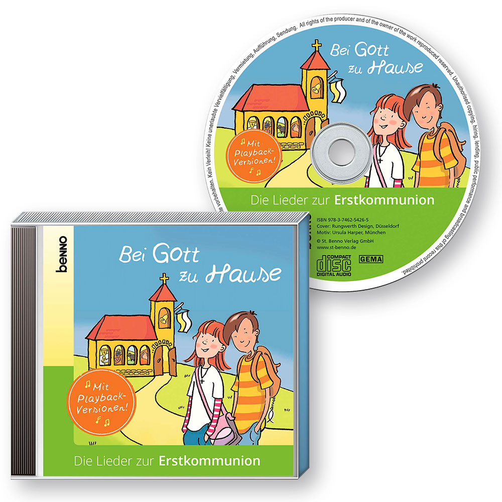 Audio-CD mit Liedern